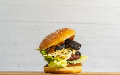 Granby Black Pudding Burger